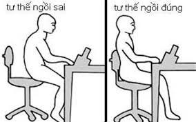 tư thế ngồi